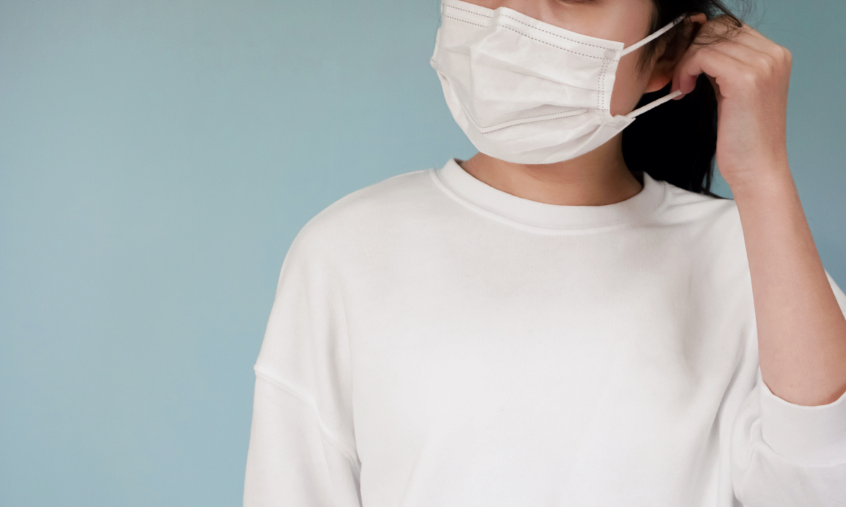 意外と知らない「マスクの正しい付け方」とは?