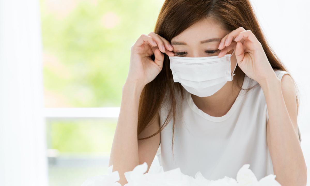 マスクを付けていたら肌が荒れた!原因と対策は…?
